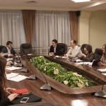 Встреча с общественной молодежной палатой (17.01.2015)