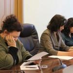 Пресс-конференция учредителей фонда помощи предпринимателям ТЦ «Адмирал» (20.03.15)
