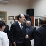 Визит главы Республики Дагестан в Дом Дружбы (25.04.15)