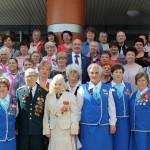 Праздничное мероприятие к юбилею Победы (15.05.15)