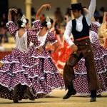 Malaga Province, Ronda, Dance Festival, show in the arena