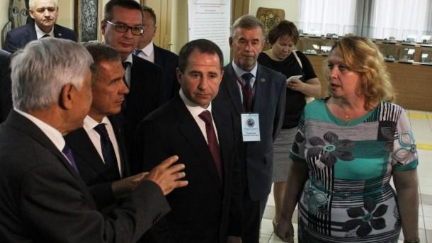 Визит Бабича и Минниханова