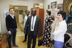 Визит президента ассоциации иностранных студентов России