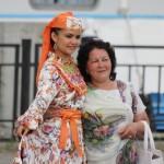 Торжественная встреча делегации из Башкортостана