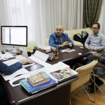 Продюсер Арсен Багдасарян в Доме Дружбы народов (08.09.17)