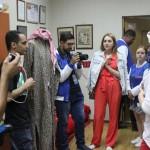Визит иностранных блогеров