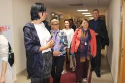 Визит специалистов работающих в сфере миграционной политики (20.09.18)