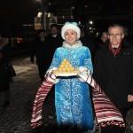 Встреча поезда Минск - Казань (14.12.18)
