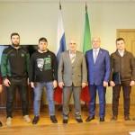 Визит делегации из Чеченской Республики (26.01.19)
