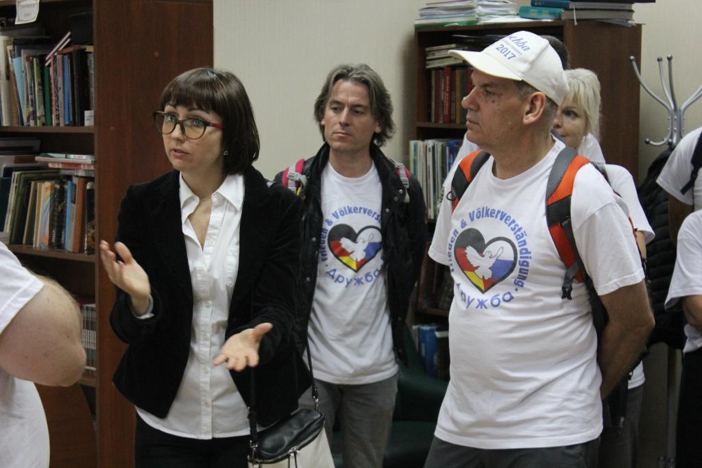 """Визит участников акции """"Автопробег Дружбы"""""""