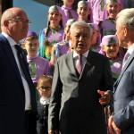 Фарид Мухаметшин вручил ключи от автобусов Домам дружбы пяти районов республики