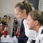 Открытие выставки кукол в национальных костюмах (27.09.19)