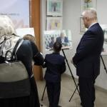 Съемка сюжета о фотовыставке для передачи на НТВ (29.11.19)