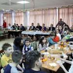 Вручение новогодних подарков детям турецкого отделения при МВШ (29.12.19)
