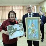 """Открытие выставки творческой группы """"Арт-позитив"""" (04.03.20)"""