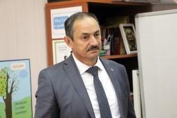 Визит председателя Госкомитета по делам национальностей (28.10.20)